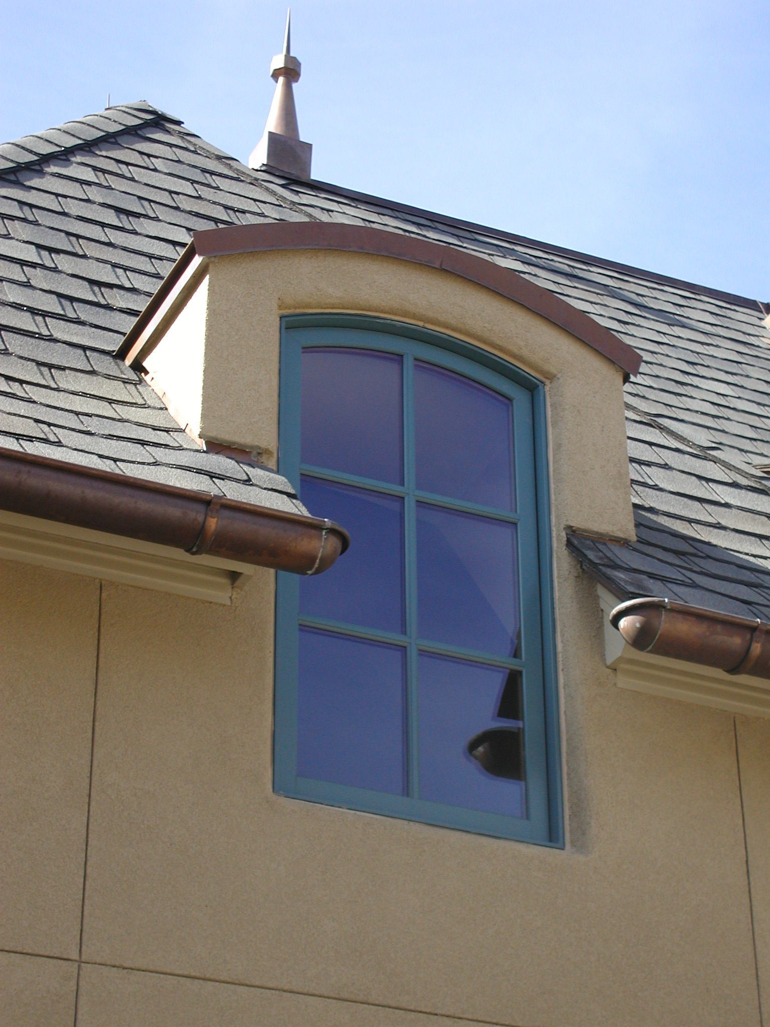 Engaged French Dormer on a New South Classics Home