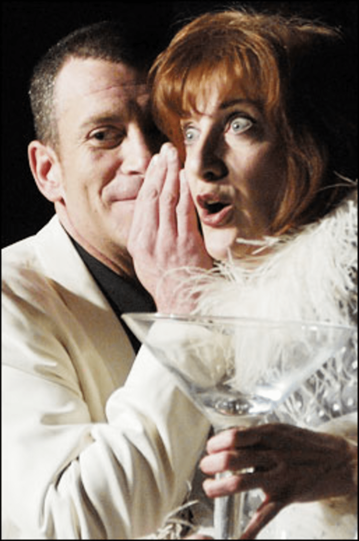 Hitting the Saucy: Musical?s a glass act.