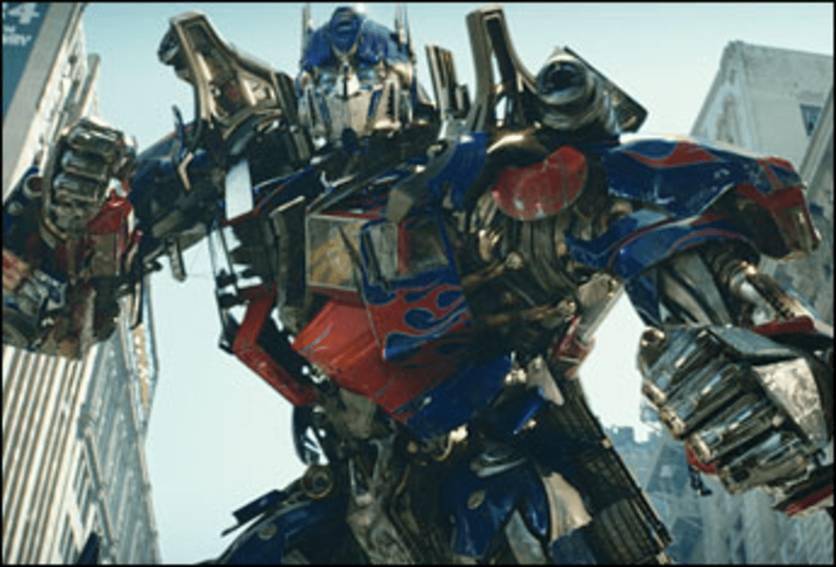 Alloy Oops: Transformers is the make and model of a dull movie.