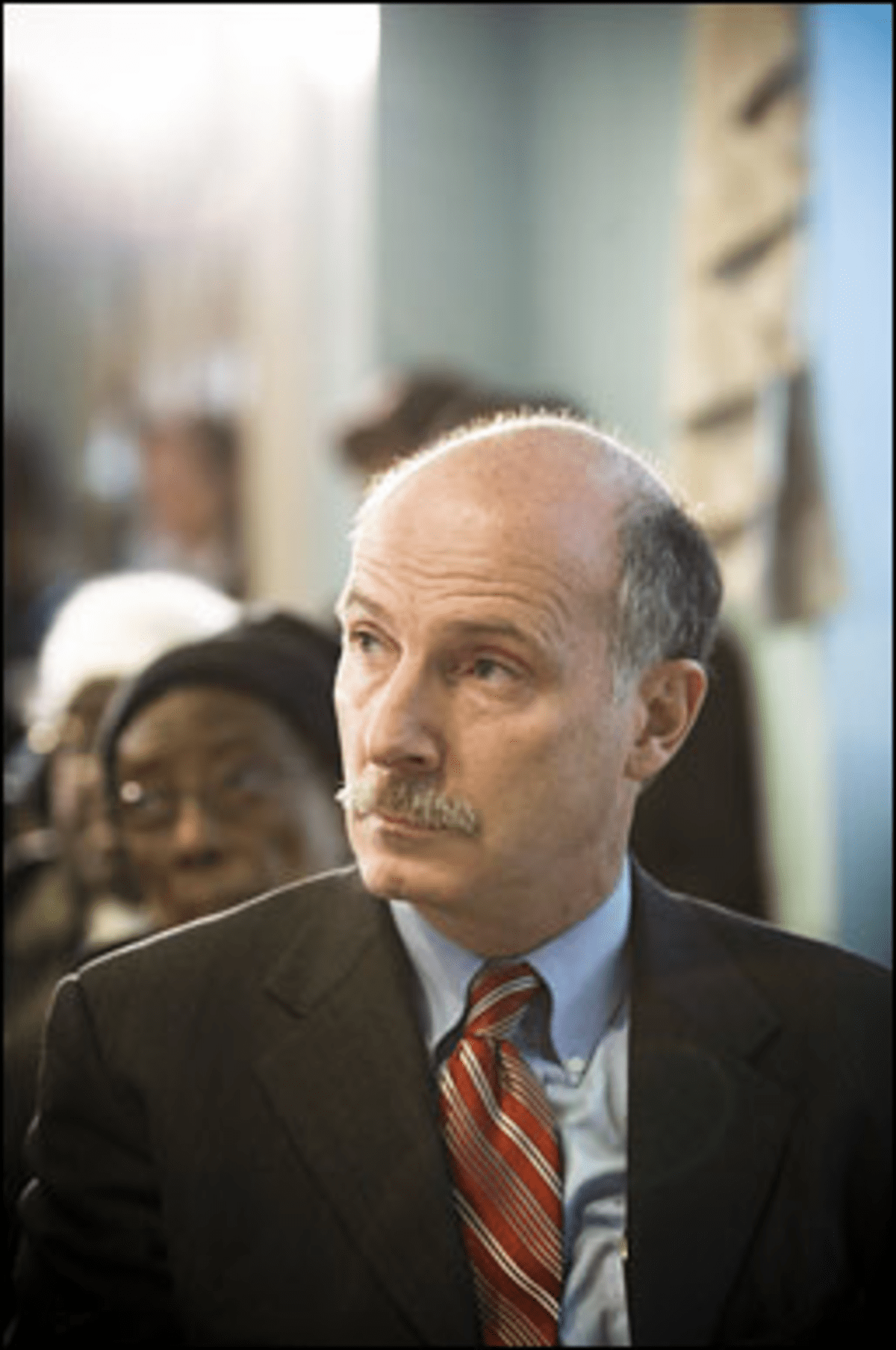 Spokes Too Soon: Mendelson took a late interest in Wells? bike-parking bill.