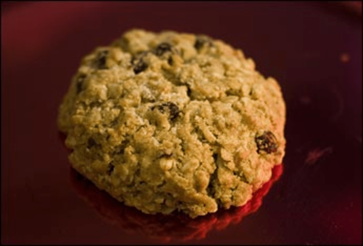 See Is for Cookie: Teaism?s salty oat.