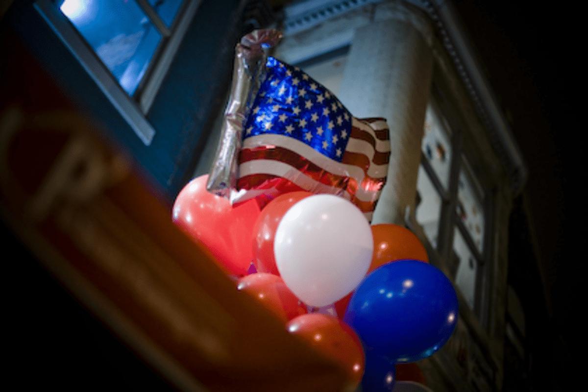 Election Night Balloons