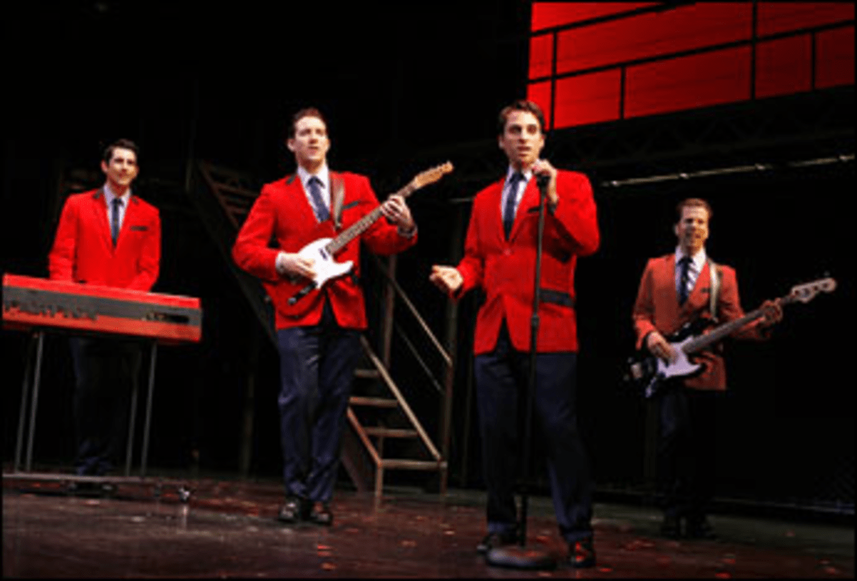 The Valli Cats: Jersey Boys delivers ?precise evocations of the group?s hits.?