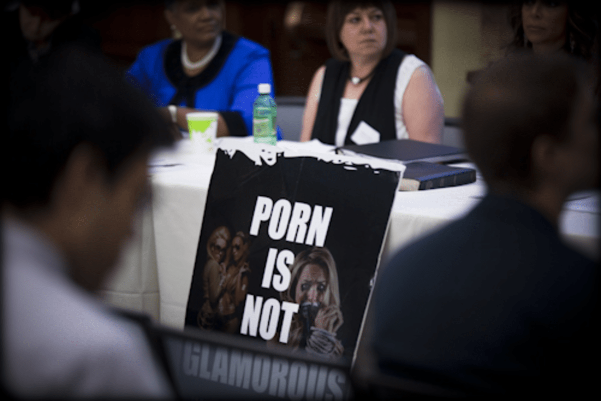 Porn conference