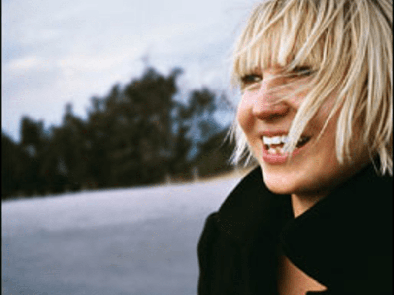 Mumble Bore: Sia recites some ambivalent lyrics with comical inarticulateness.