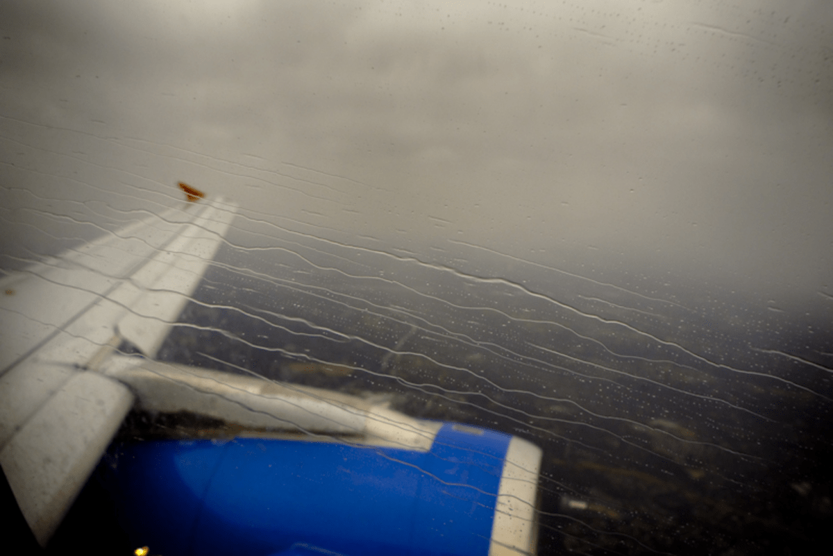 Approaching DCA, February 28