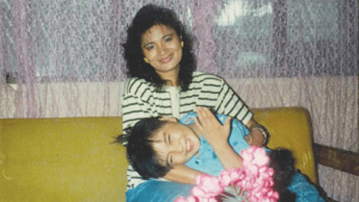 How I Left My Mother: Vargas mom sent him from the Philippines to the U.S. when he was 12. mom sent him from the Philippines to the U.S. when he was 12.