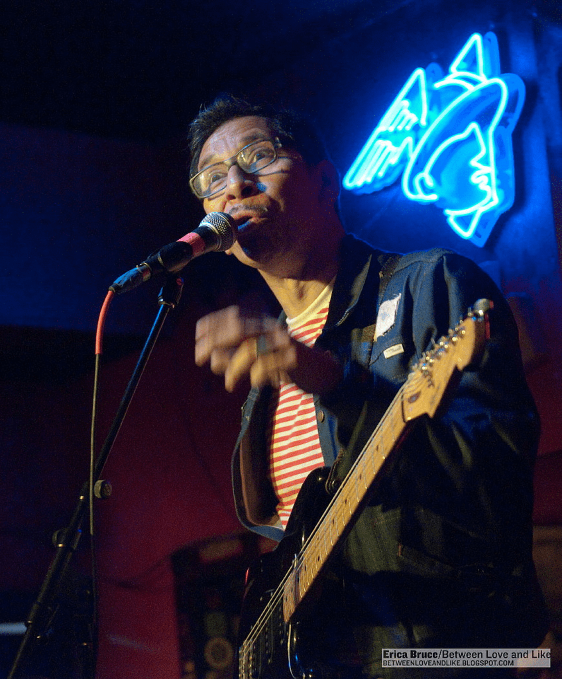 Kid Congo Powers and the Pink Monkey Birds at the Alejandro Escovedo and Friends show, Continental Club, SXSW 2012.