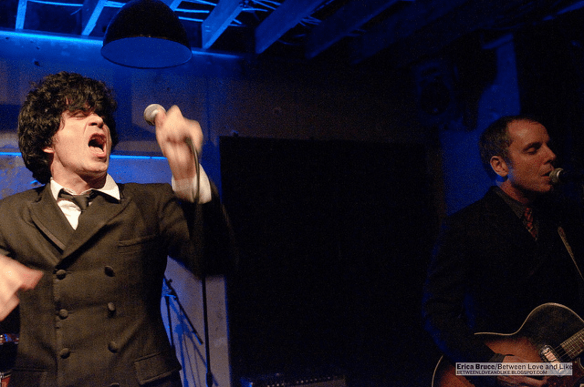 Ian Svenonius and James Canty of Garbage Zone