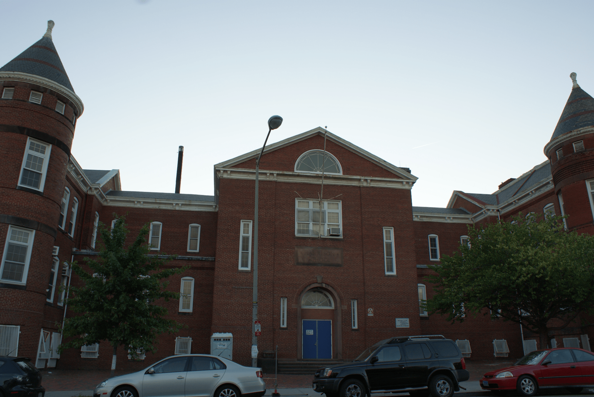 The Harrison School, at 13th and V Streets NW, was built in 1890 and closed in 2008. The city has awarded it to Meridian Public Charter School.