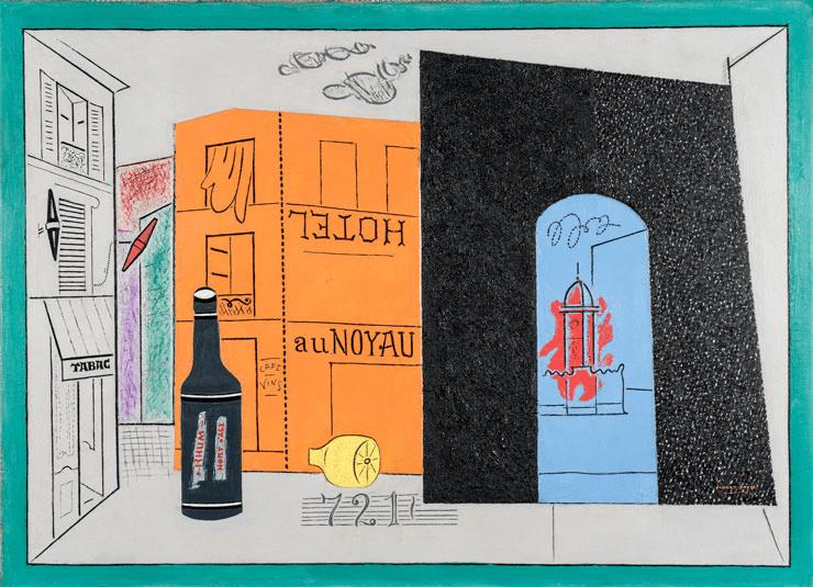 """""""Arch Hotel"""" by Stuart Davis (1929)"""