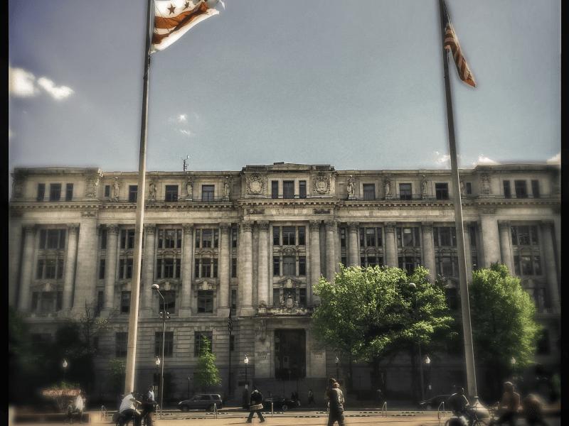 The John A. Wilson Building in Washington, D.C.