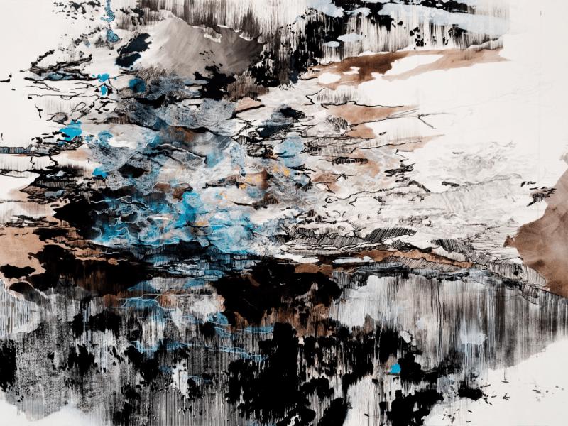 """""""Melt 1 (59°7′40″N 138°37′14″W)"""" by Jowita Wyszomirska (2017)"""