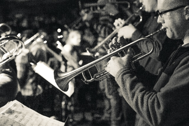 The Bohemian Caverns Jazz Orchestra.