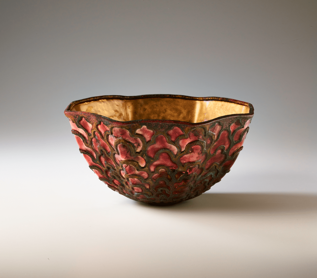 """Fortuny Bowl (#828)"" by June Schwarcz (1981)"