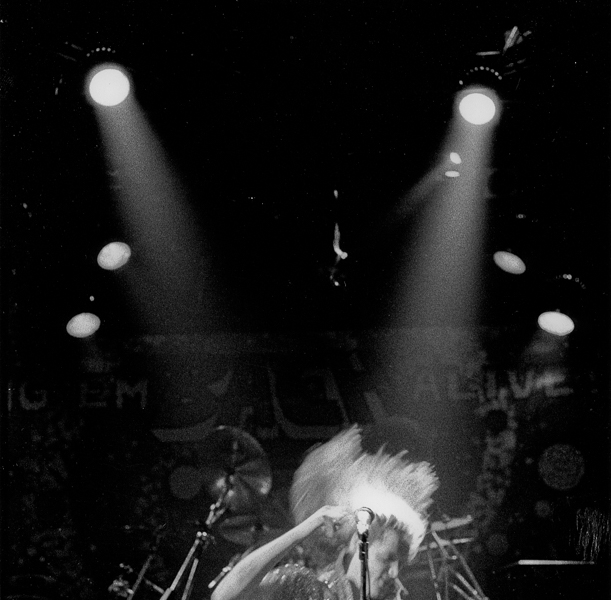 Former Skid Row frontman Sebastian Bach at JAXX nightclub in 2000