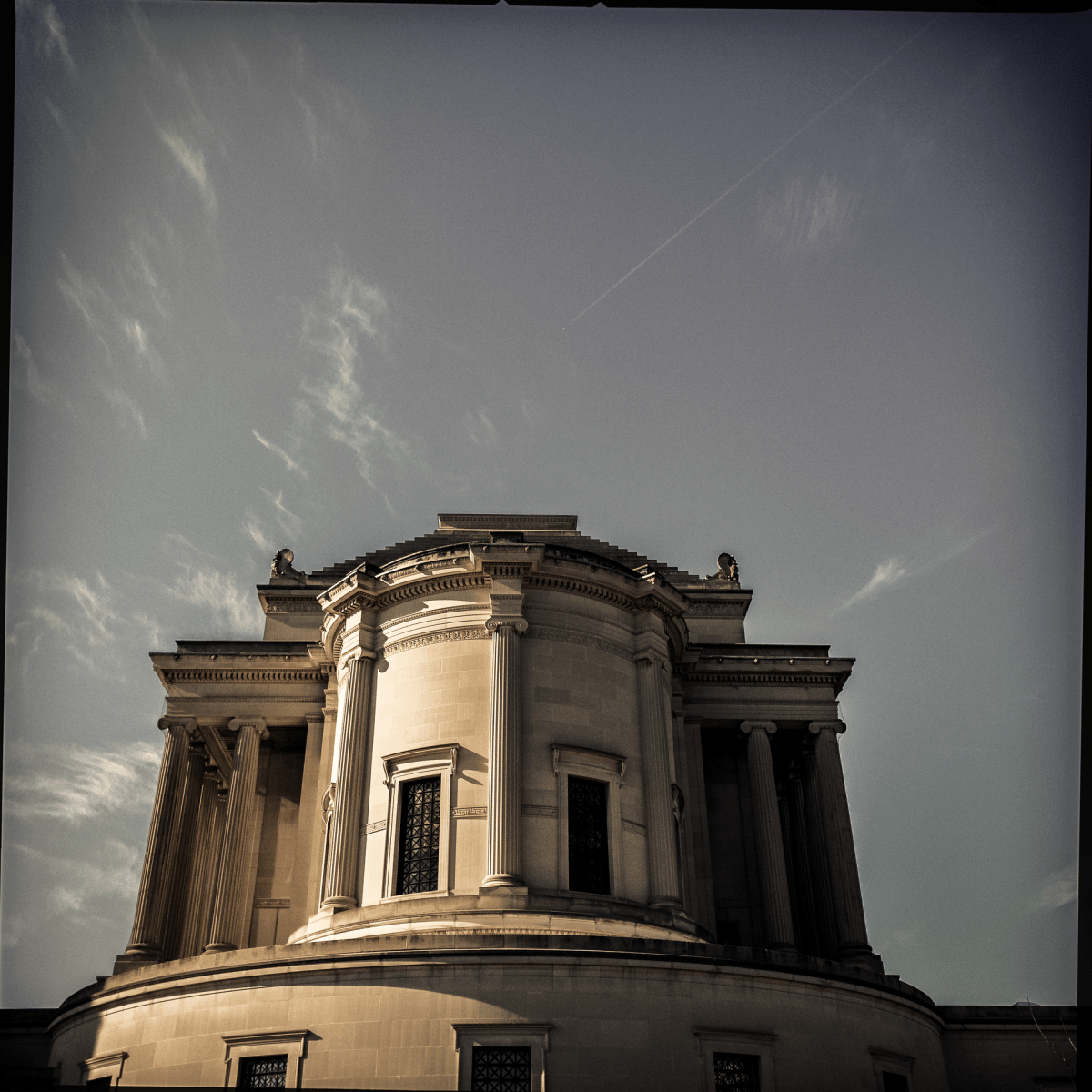 The Masonic temple at 1733 16th St. NW.