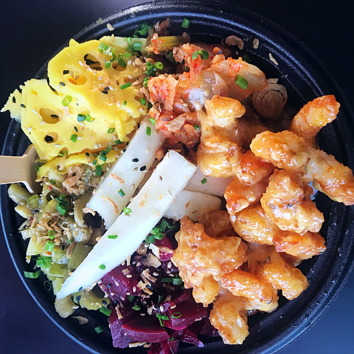 District Fishwife donburi. All photos Laura Hayes.