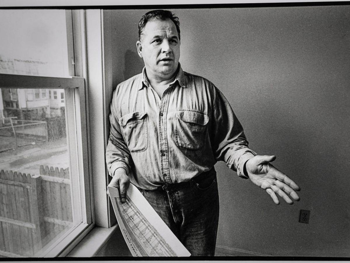 John Slack in 1998