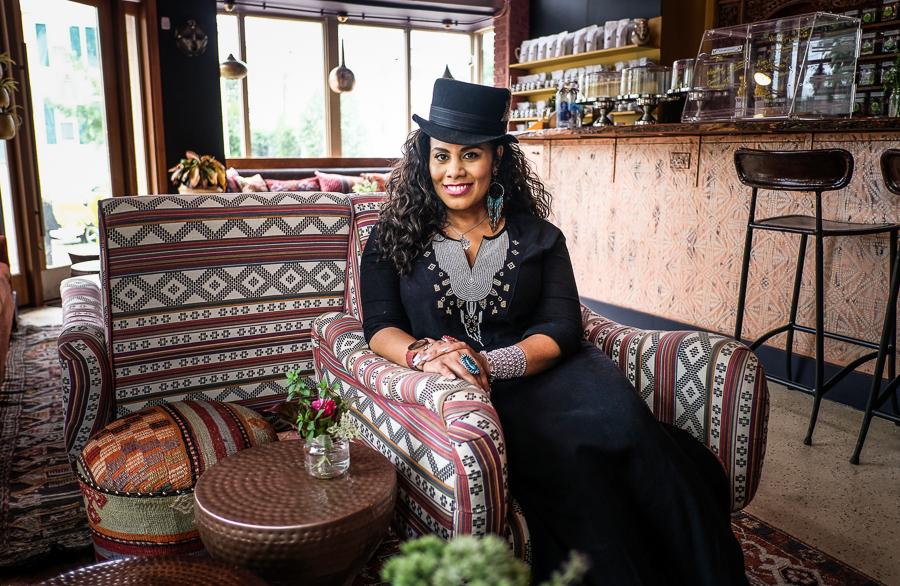 Sunyatta Amen of Calabash Tea & Tonic