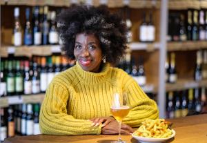 Elizabeth White at Cork Wine Bar