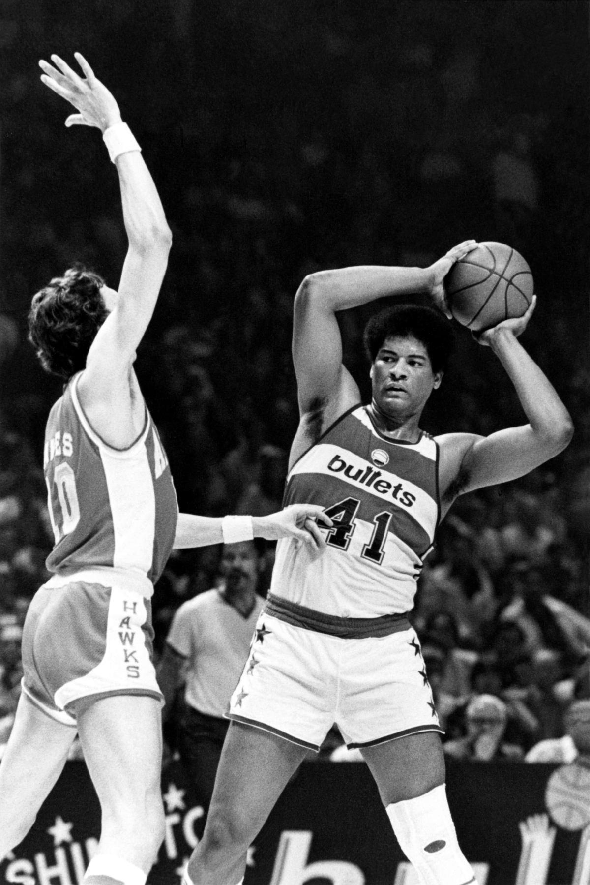 Wes Unseld played his entire career with the Bullets.