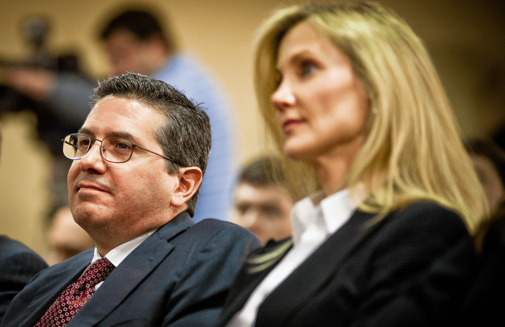 Dan Snyder and his wife, Tanya Snyder