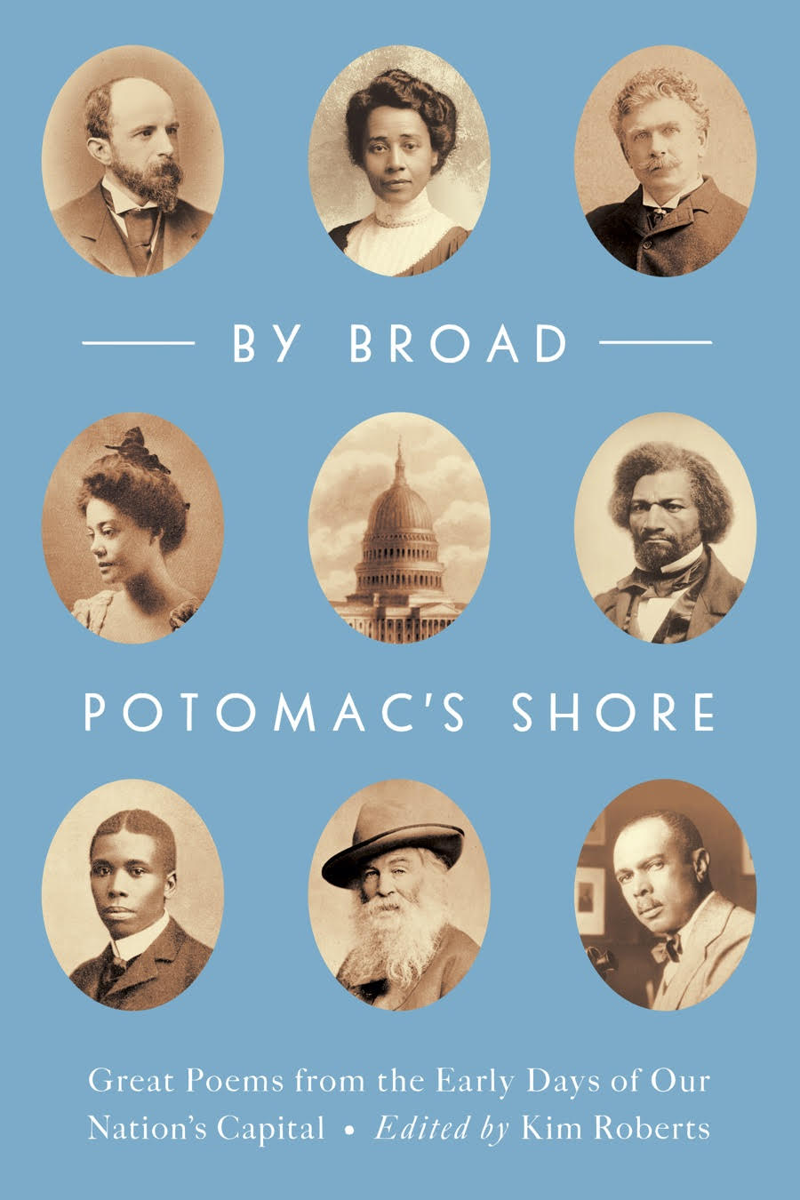 The book cover of By Broad Potomac's Shore