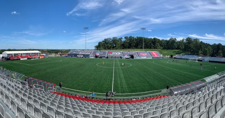 Segra Field in Leesburg, Virginia.