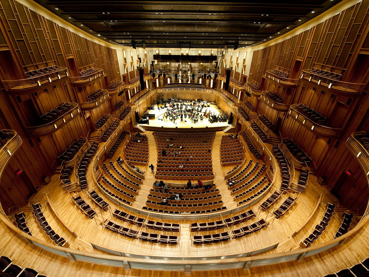 The Music Center at Strathmore, where the National Philharmonic will play half its 2020-21 season.