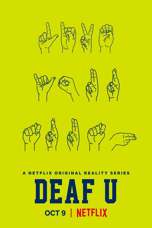 Poster art for Deaf U