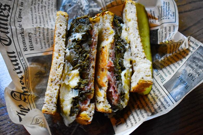 Fight Club's Ham and Mustard Sandwich