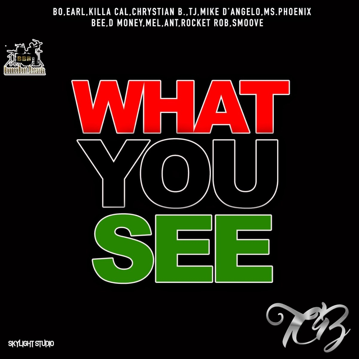 "Single cover for ""What You See"""