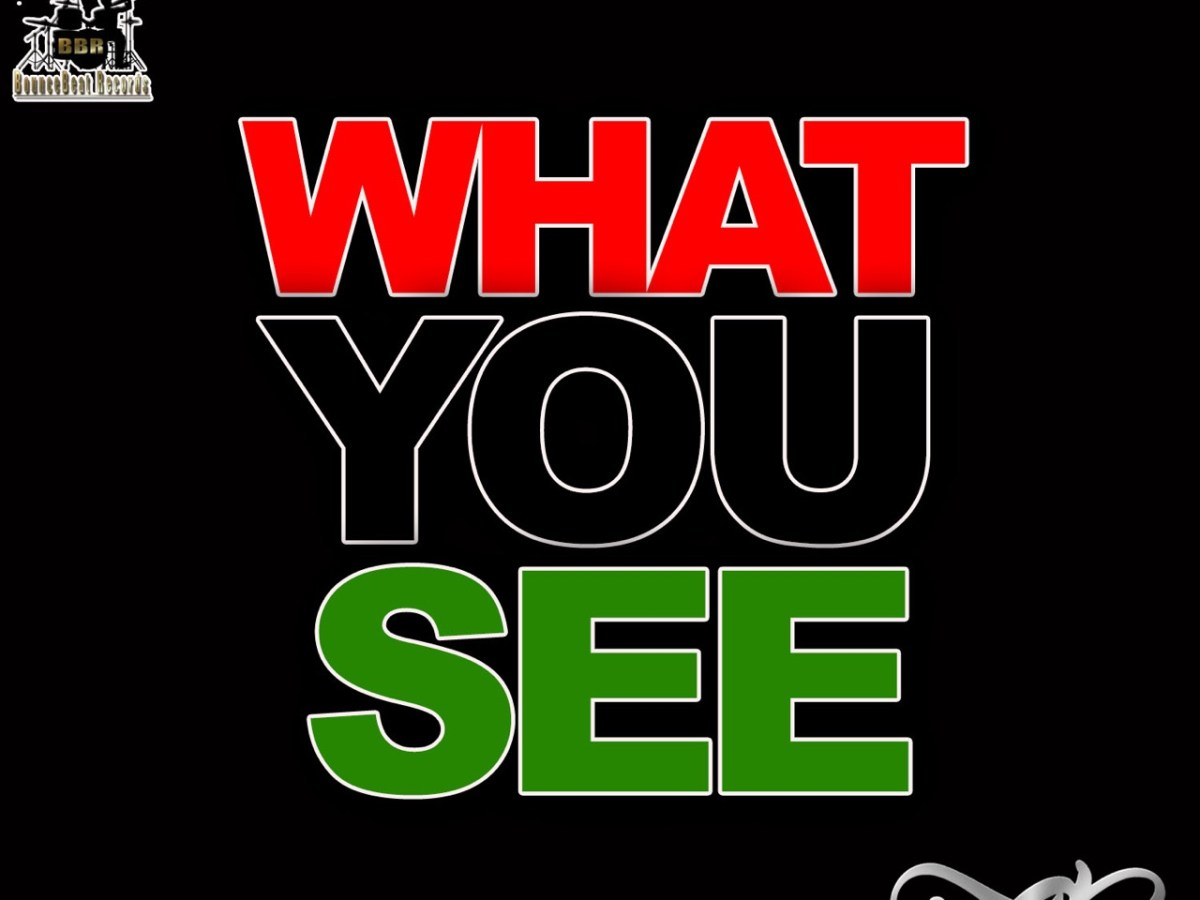 """Single cover for """"What You See"""""""