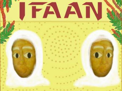 The cover of the Kino Musica EP Ifaan.