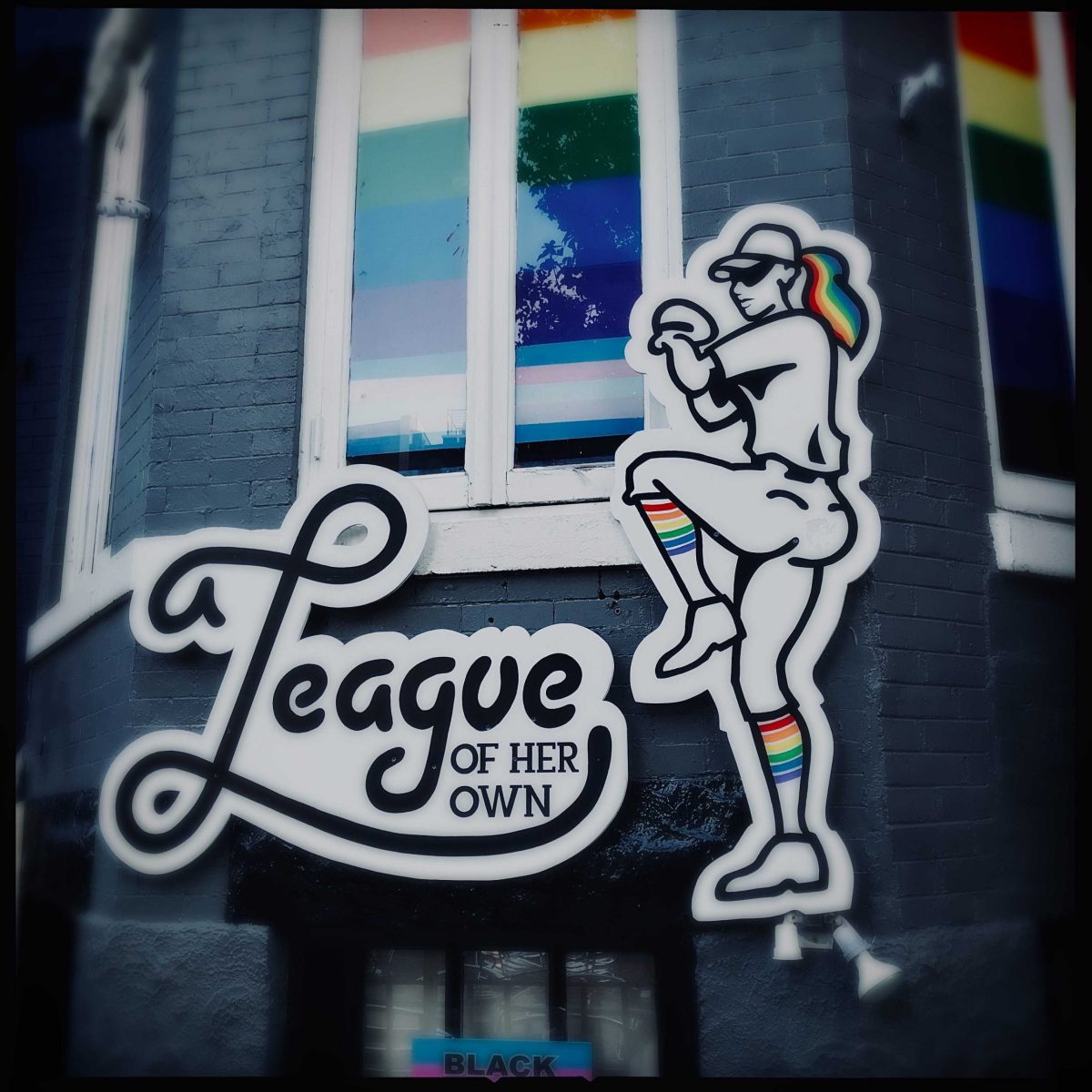 Exterior of A League of Her Own on 18th Street NW