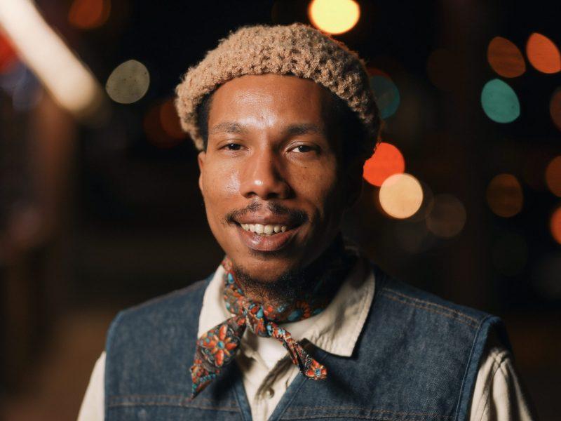 Jamal Gray, the artist behind GODSPEED.