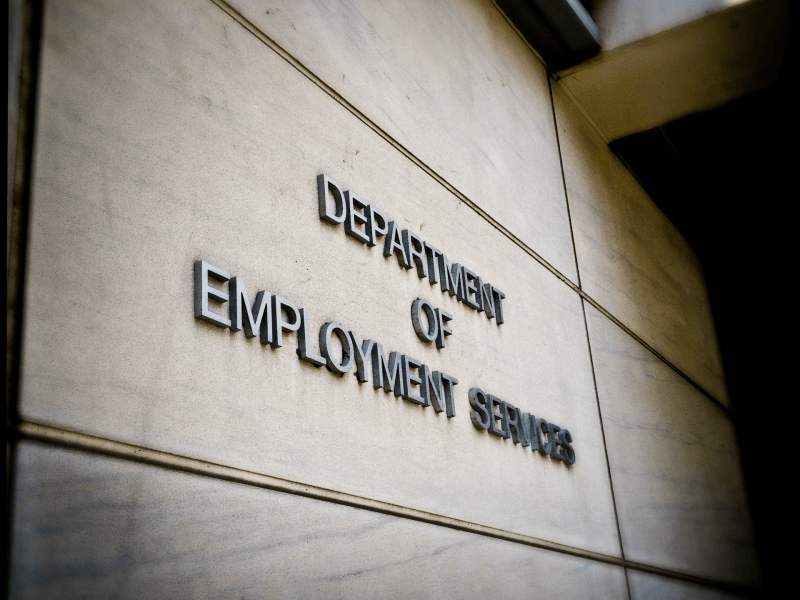 Department of Employment Services exterior