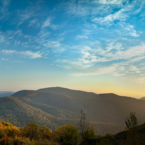 The promotional history for Shenandoah National Park's History Highlights.