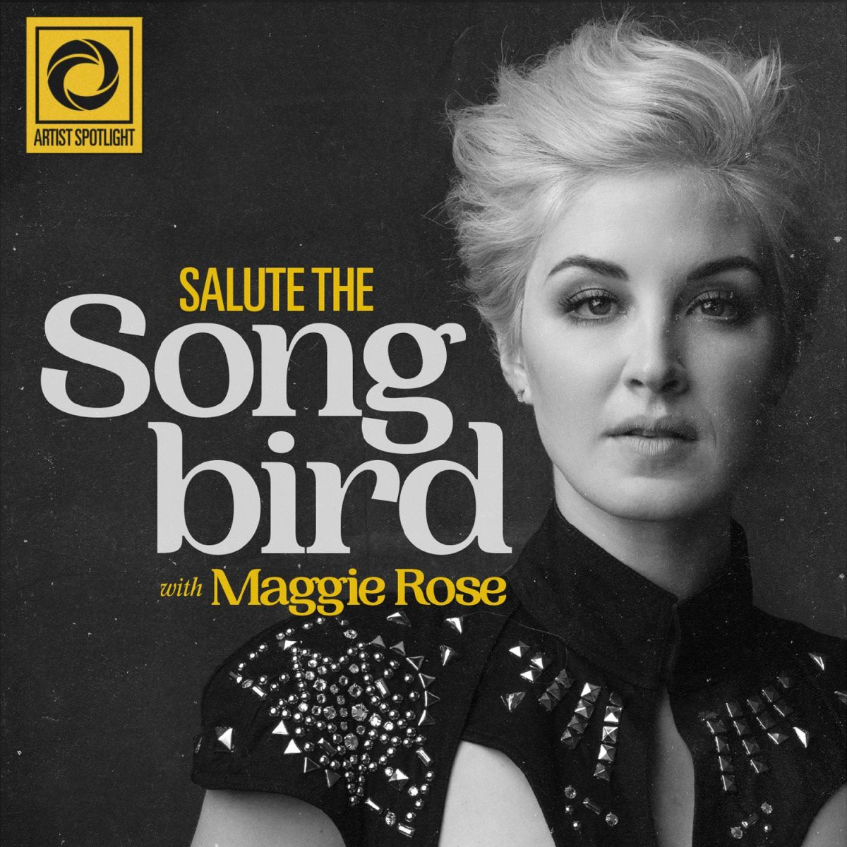 A promotional image for Salute the Songbird.