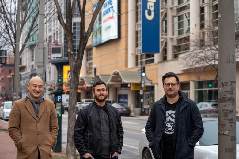 Chef Tim Ma, Jonas Singer, and Ben Sislen in D.C.