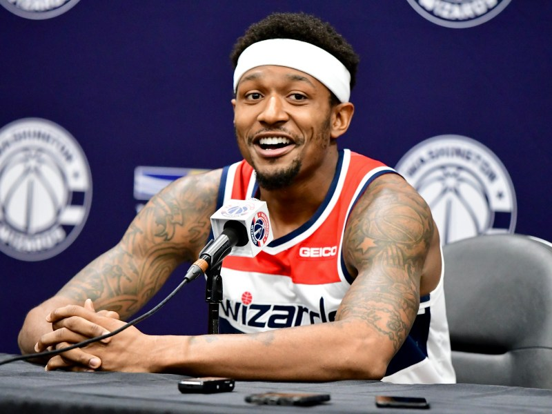 Bradley Beal of the Washington Wizards