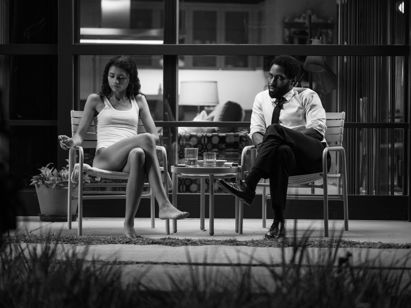 A still from Malcolm & Marie.