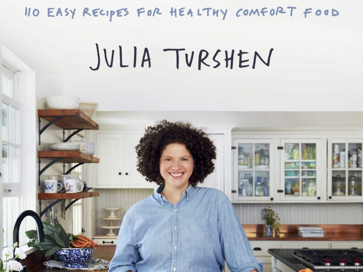 The cover of Julia Turshen's Simply Julia.