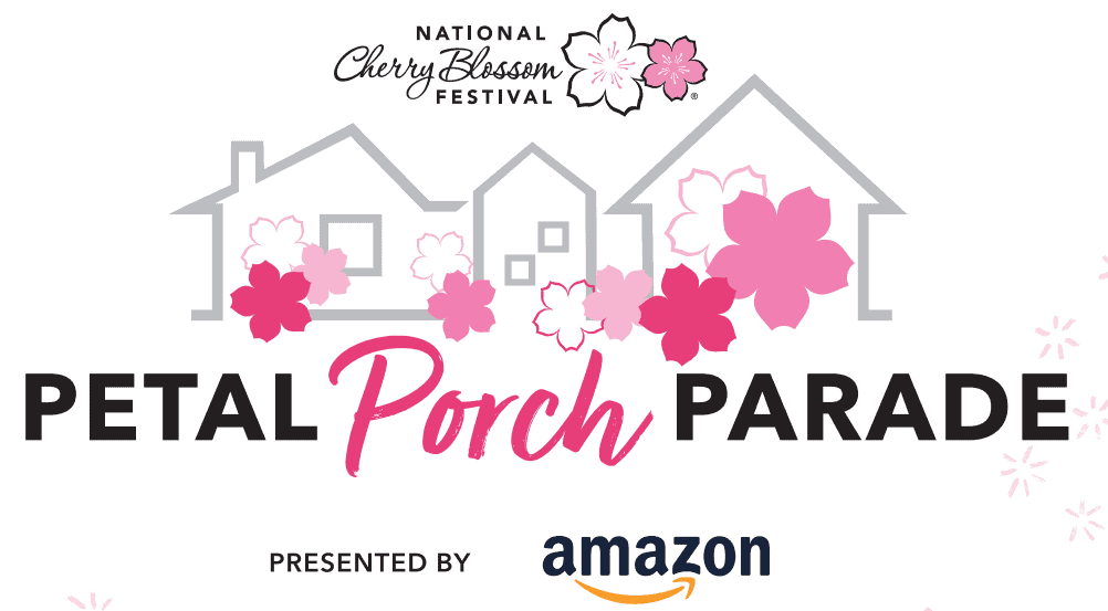 A promotional image for the Petal Porch Parade.