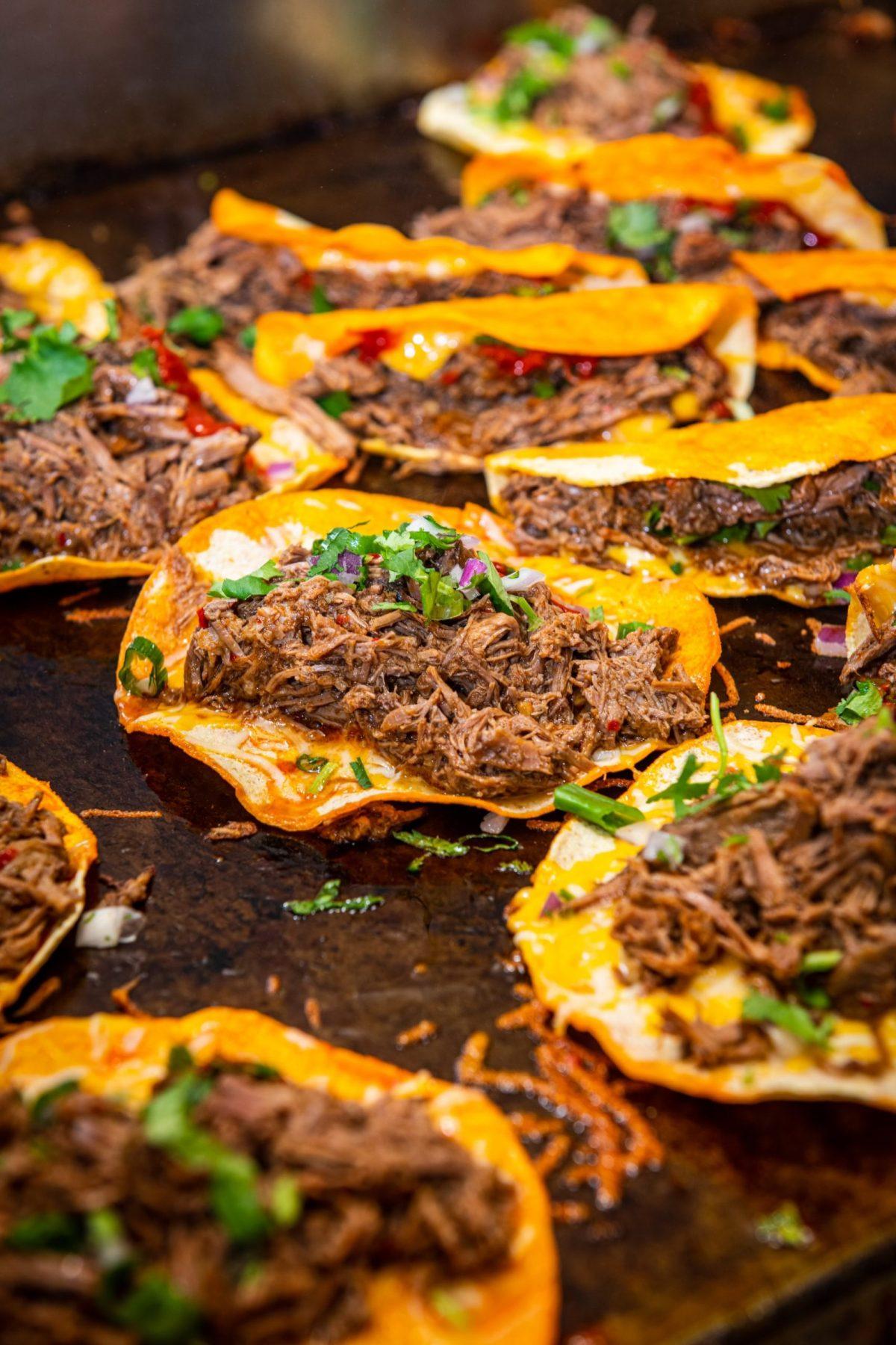 Birria tacos at Little Miner Taco