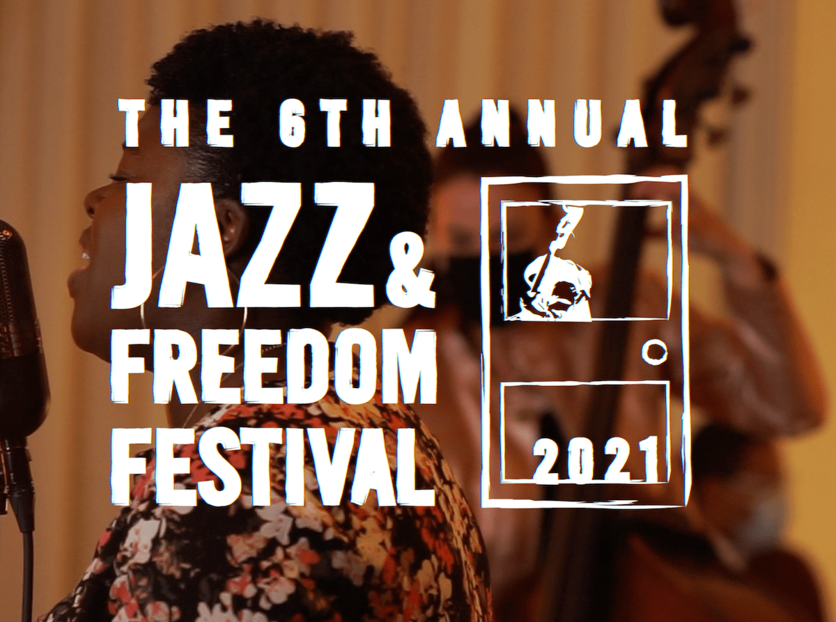 Promotional image for the Jazz and Freedom Festival by CapitalBop