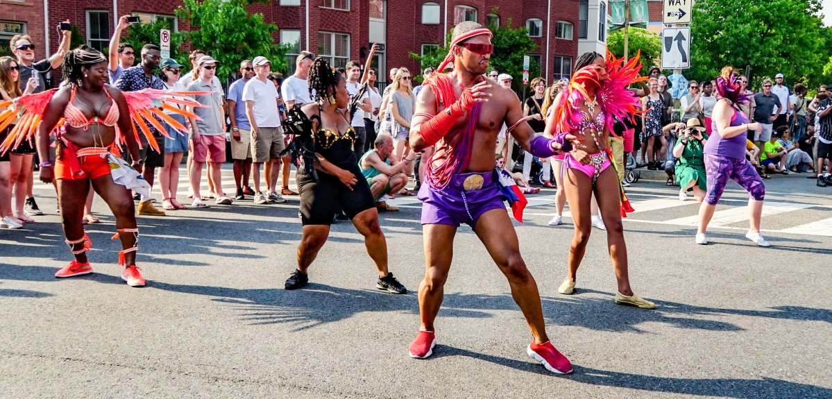 The DC Funk Parade in 2018.