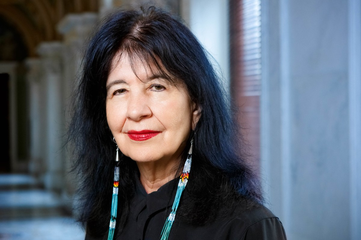 Joy Harjo, who is reading at the National Museum of the American Indian's Indigenous Poetry: Resilience event.
