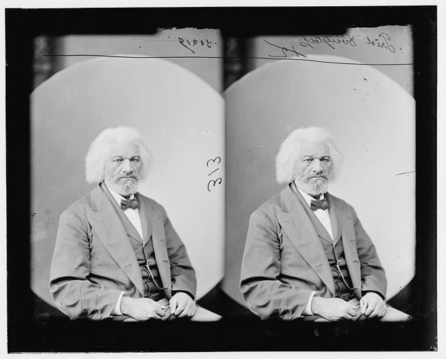 Frederick Douglass, one of the main characters in Necessary Sacrifices.